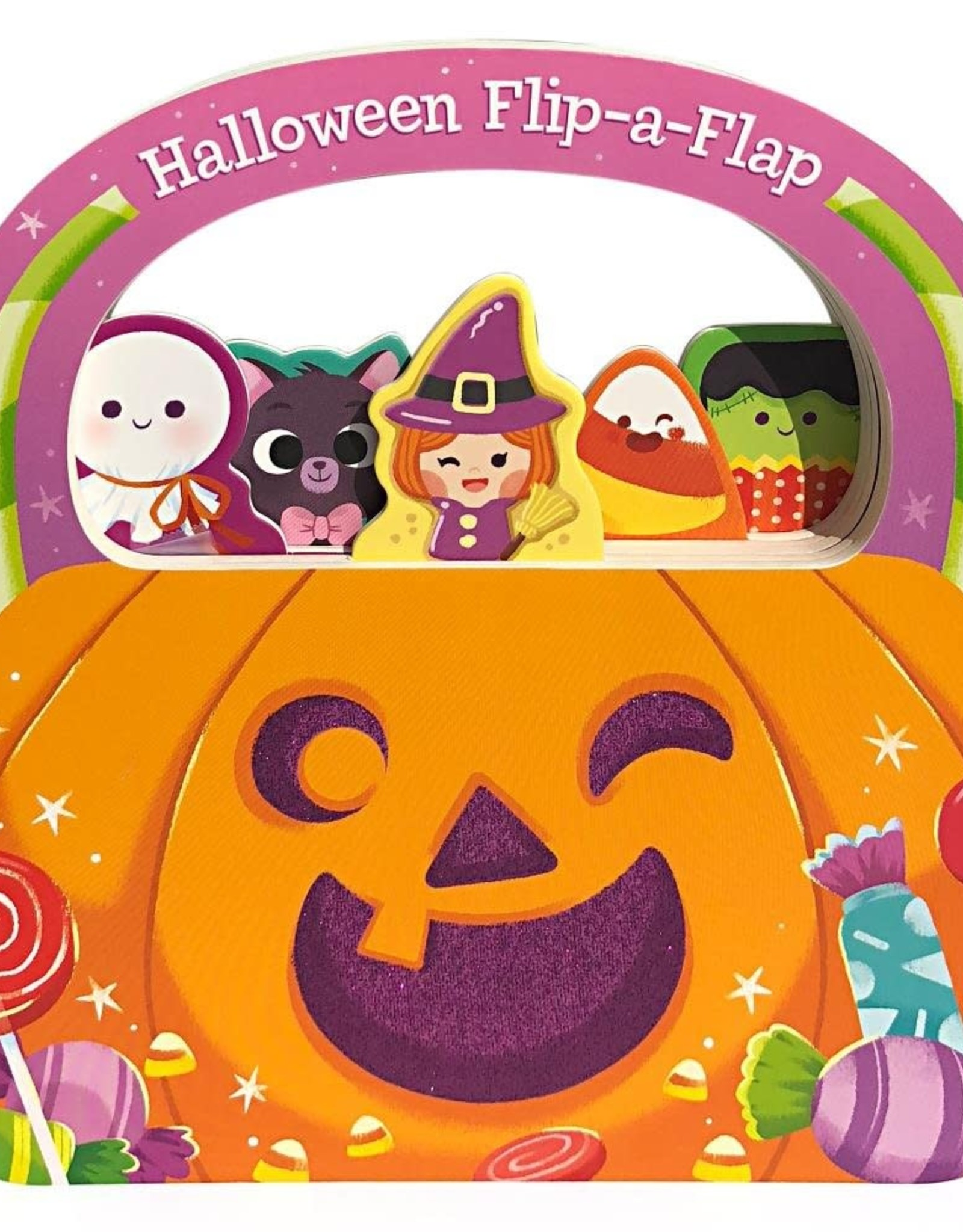 Happy Halloween Chunky Flip-a-Flap