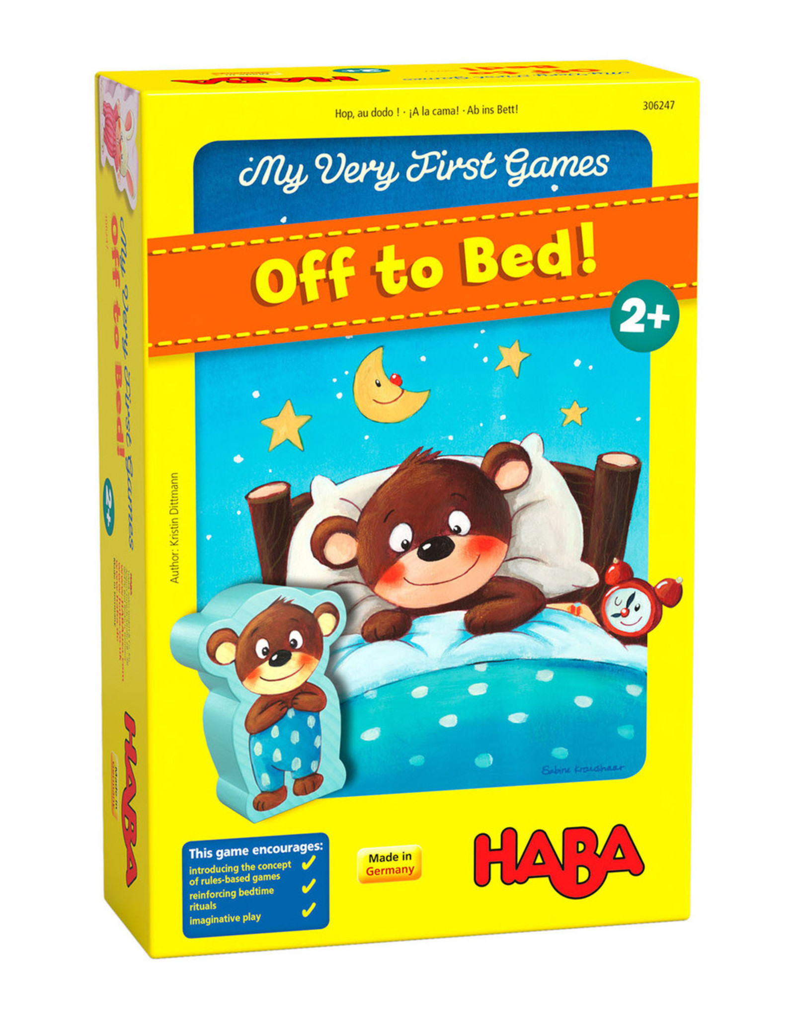 Haba My Very First Games - Off to Bed