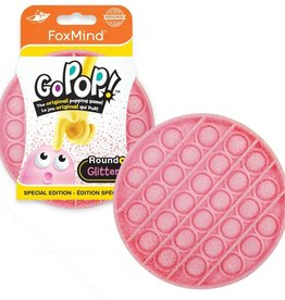 Foxmind Go Pop (Last One Lost) Pink Glitter
