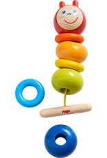 Haba Rainbow Caterpillar Counting Threading Game