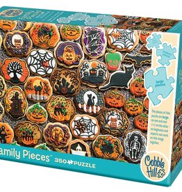 Cobble Hill Puzzles Halloween Cookies - 350 pc Family Puzzle