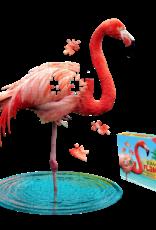 Madd Capp I Am A Lil' Flamingo 100 Piece Puzzle