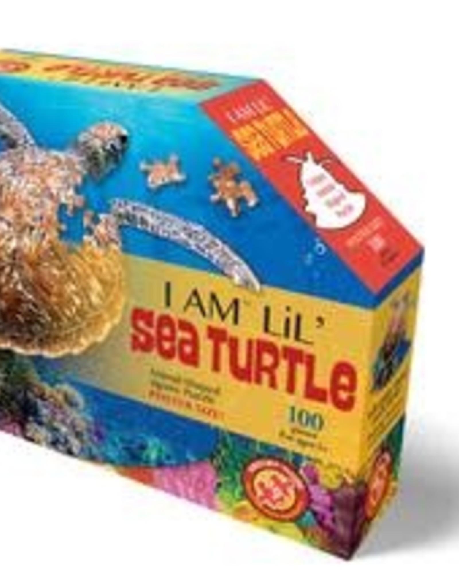 Madd Capp I Am A Lil' Sea Turtle 100 pc Puzzle