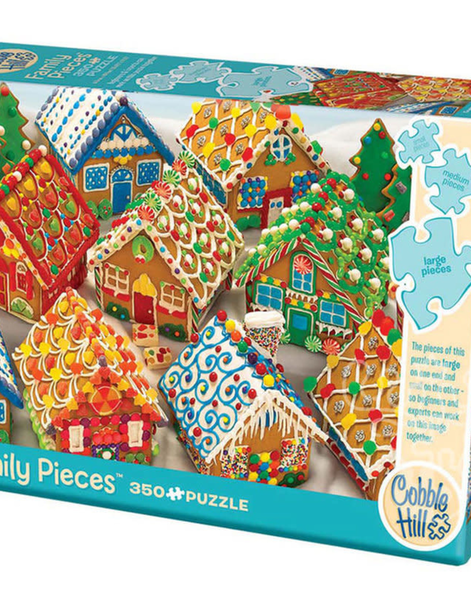 Cobble Hill Puzzles Gingerbread Houses Family Puzzle
