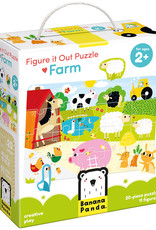Banana Panda Figure it Out Puzzle - Farm