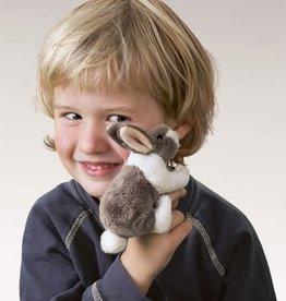 Folkmanis Mini Bunny Rabbit Finger Puppet