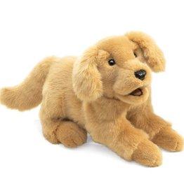 Folkmanis Golden Retriever Hand Puppet