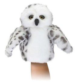 Folkmanis Little Snowy Owl Hand Puppet