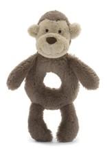 Jellycat Bashful Monkey Ring Rattle