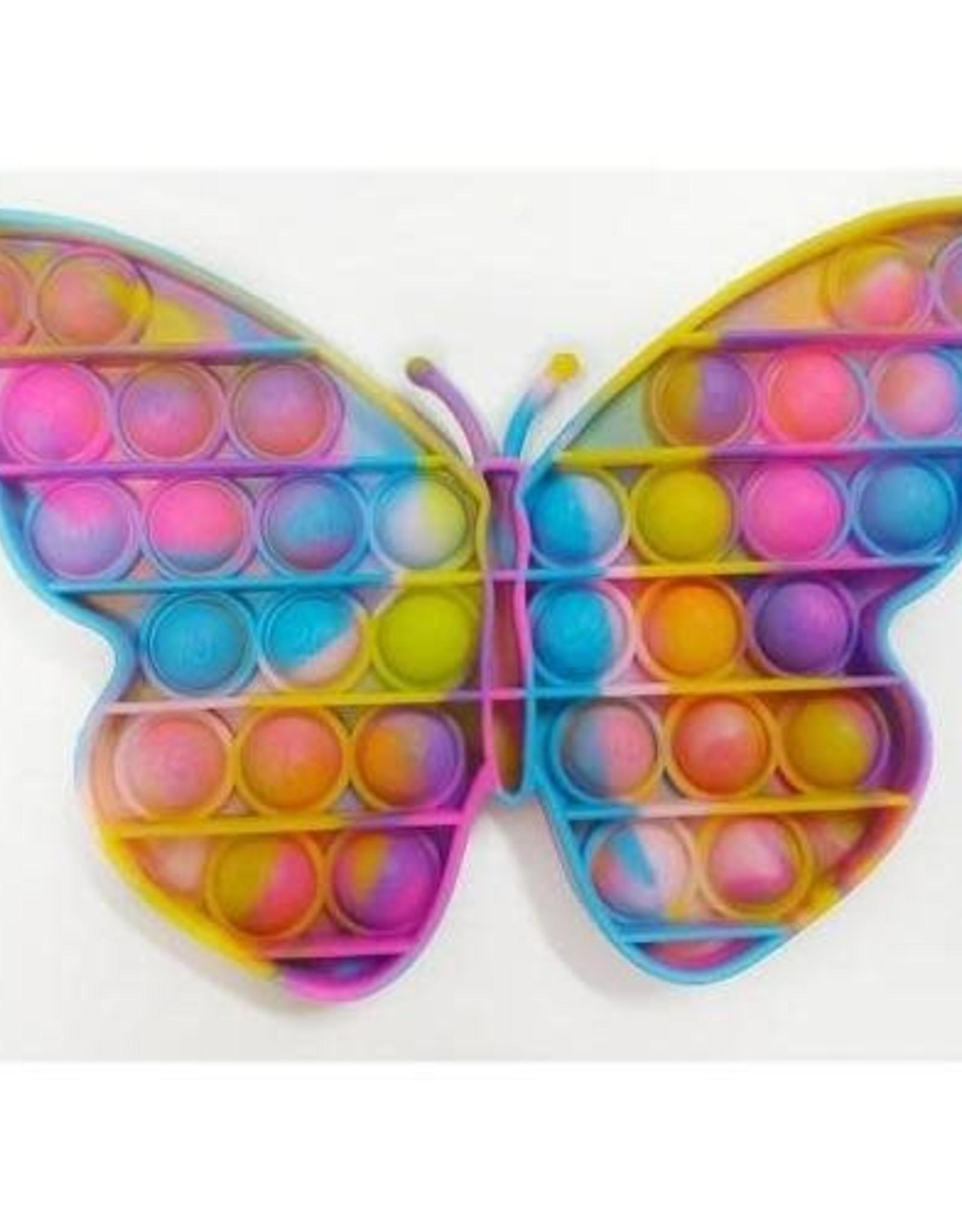 Butterfly Marble Bubble Popper Fidget Toy