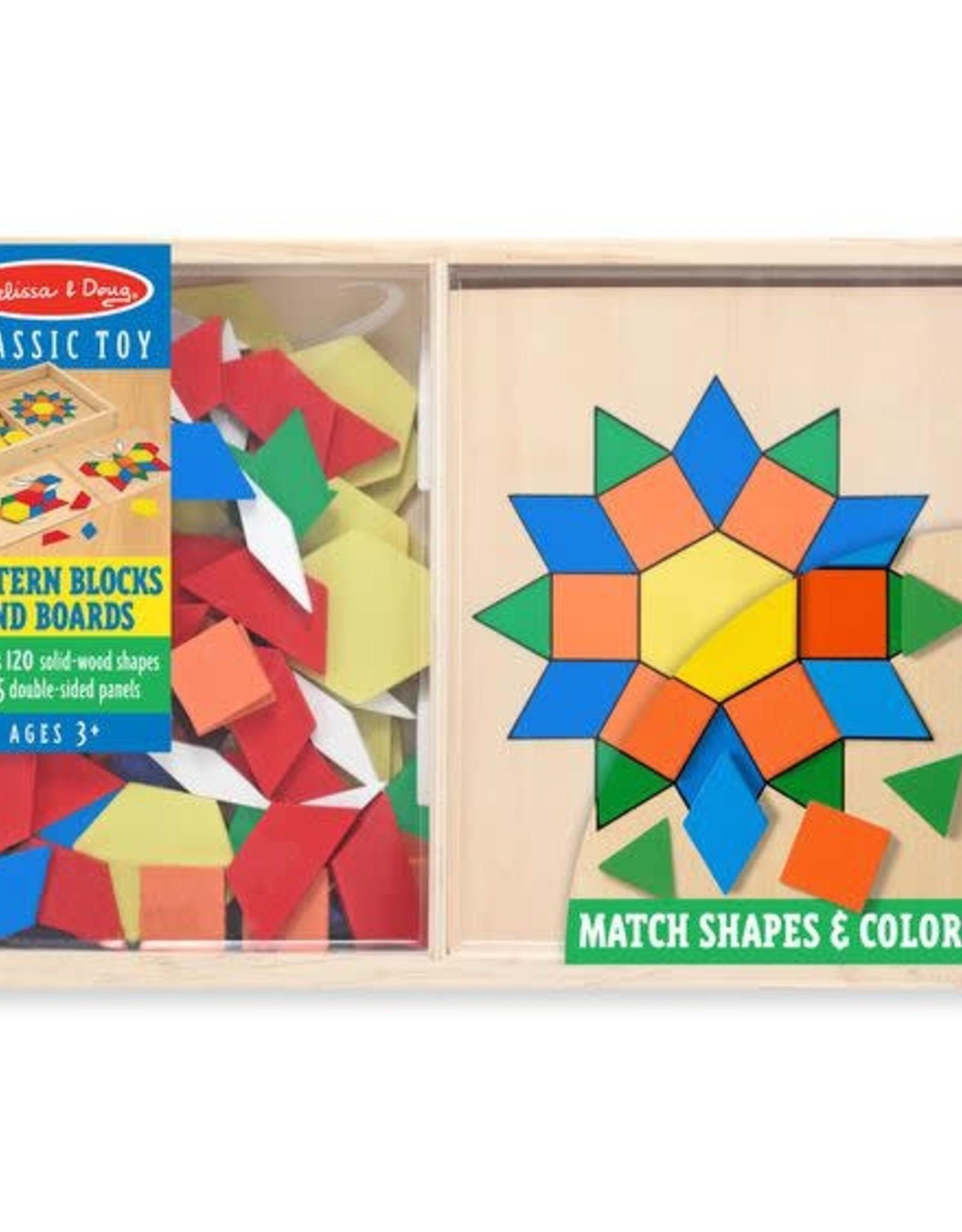 Melissa & Doug Melissa & Doug Pattern Blocks and Boards