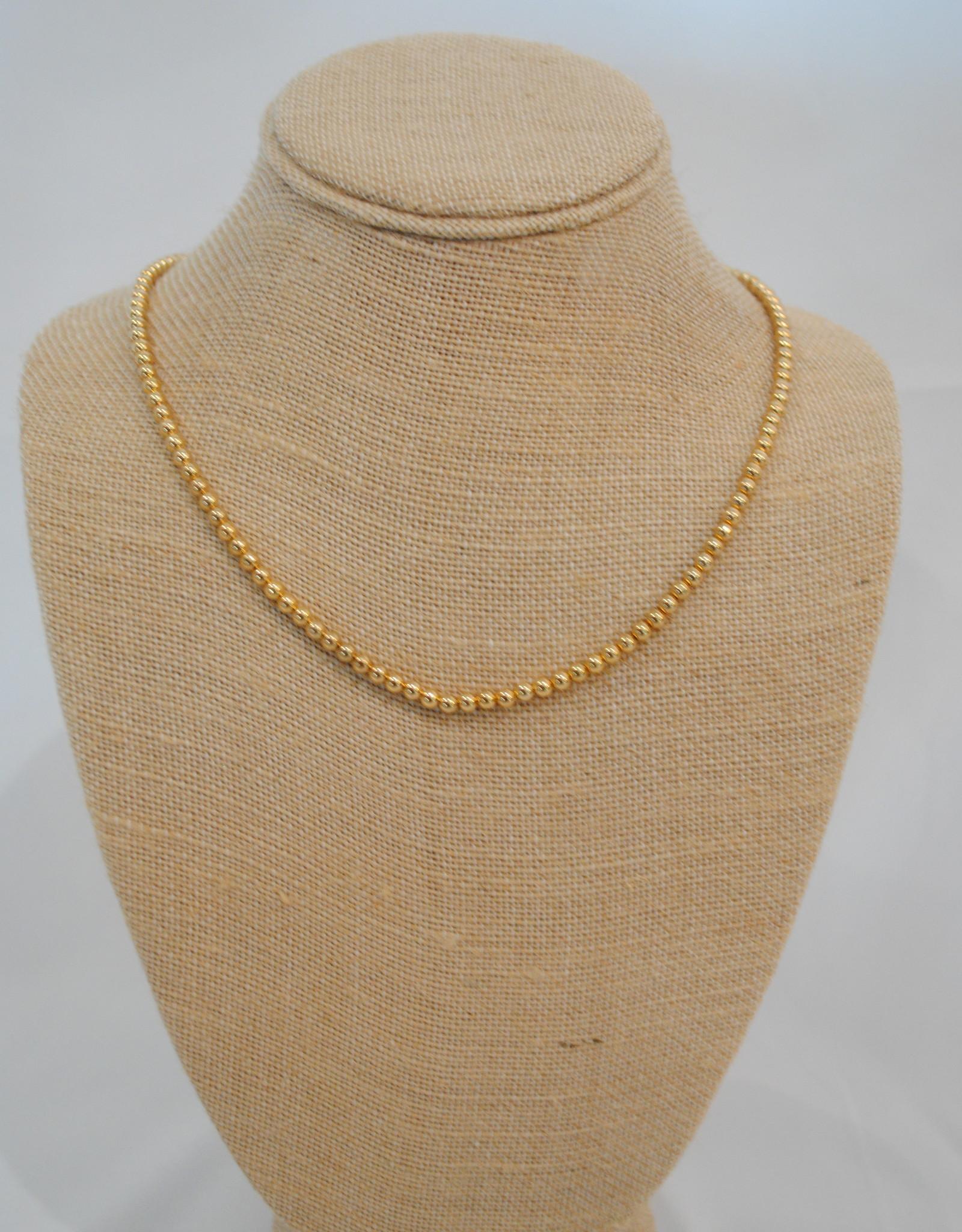 Alv Jewels Gold Ball Chain