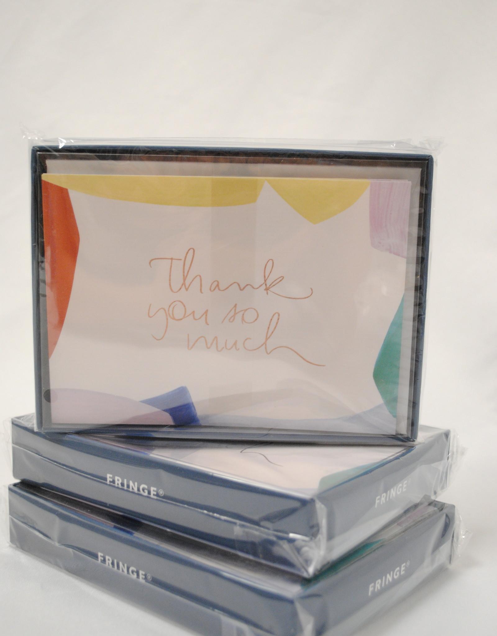Fringe Thank You Cards
