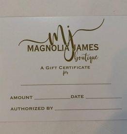 Magnolia James Gift Card
