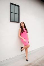 Julie Brown Julie Brown Popover Pink Dress
