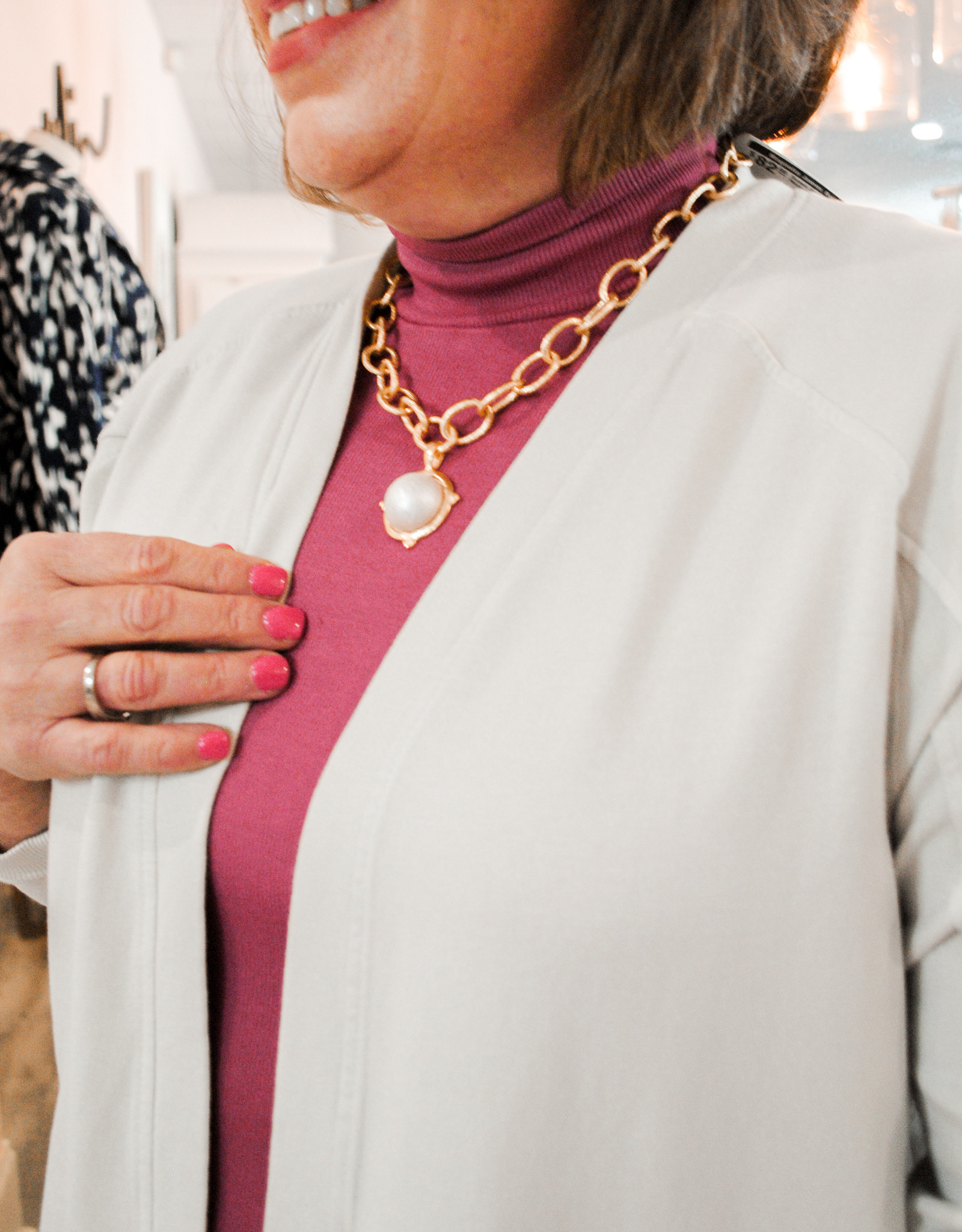 Susan Shaw Freshwater Pearl Necklace