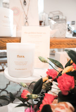 The Golden Hour Small Flora Candle
