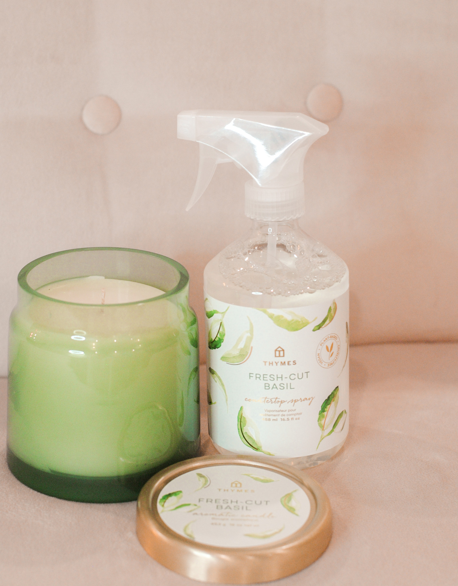 Thymes Basil Candle