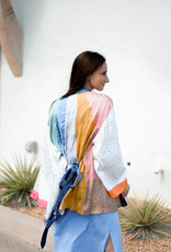 Current Air Multi Colorblock Kimono