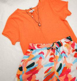 sedge Orange Lana Top
