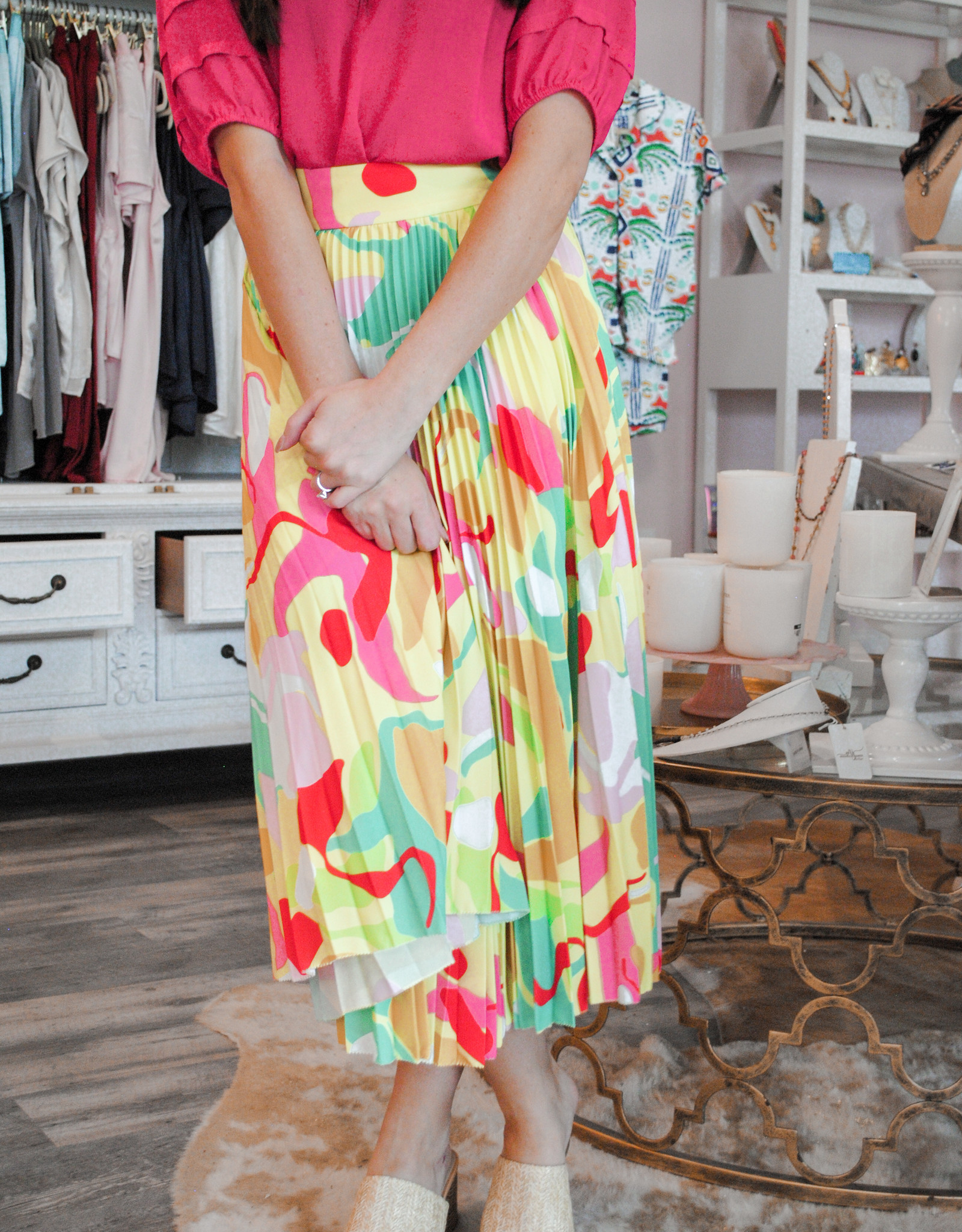 Crosby Taffy Skirt