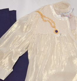 Gretchen Scott Glinda Smock Gold