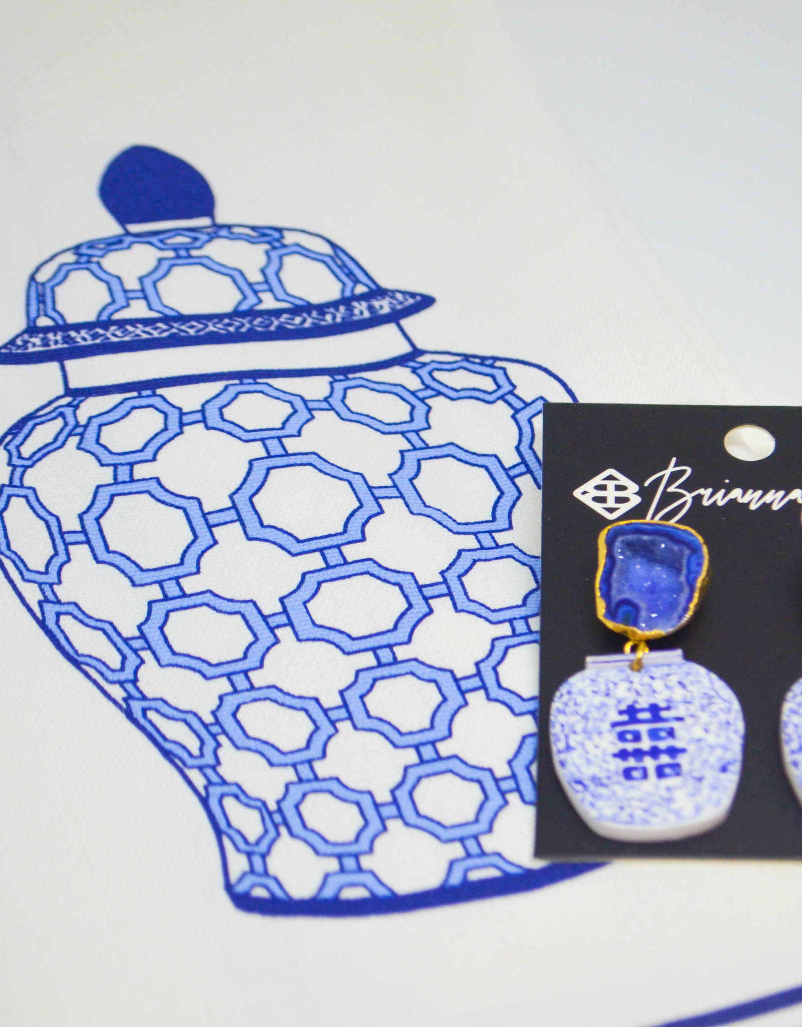 Team #RLN Ginger jar earrings