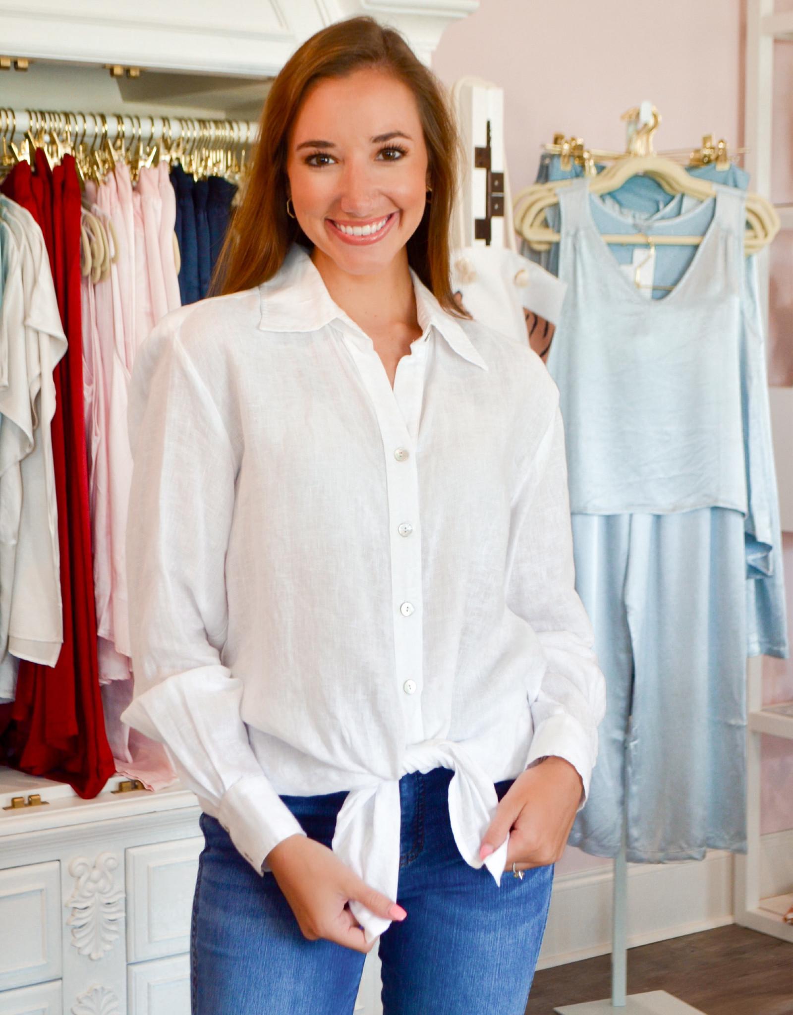 Finley Monica Linen Shirt