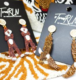 Aubie earrings