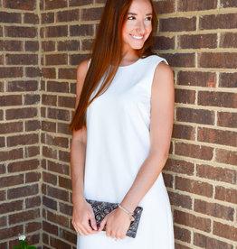 Julie Brown Grace Bay White Dress