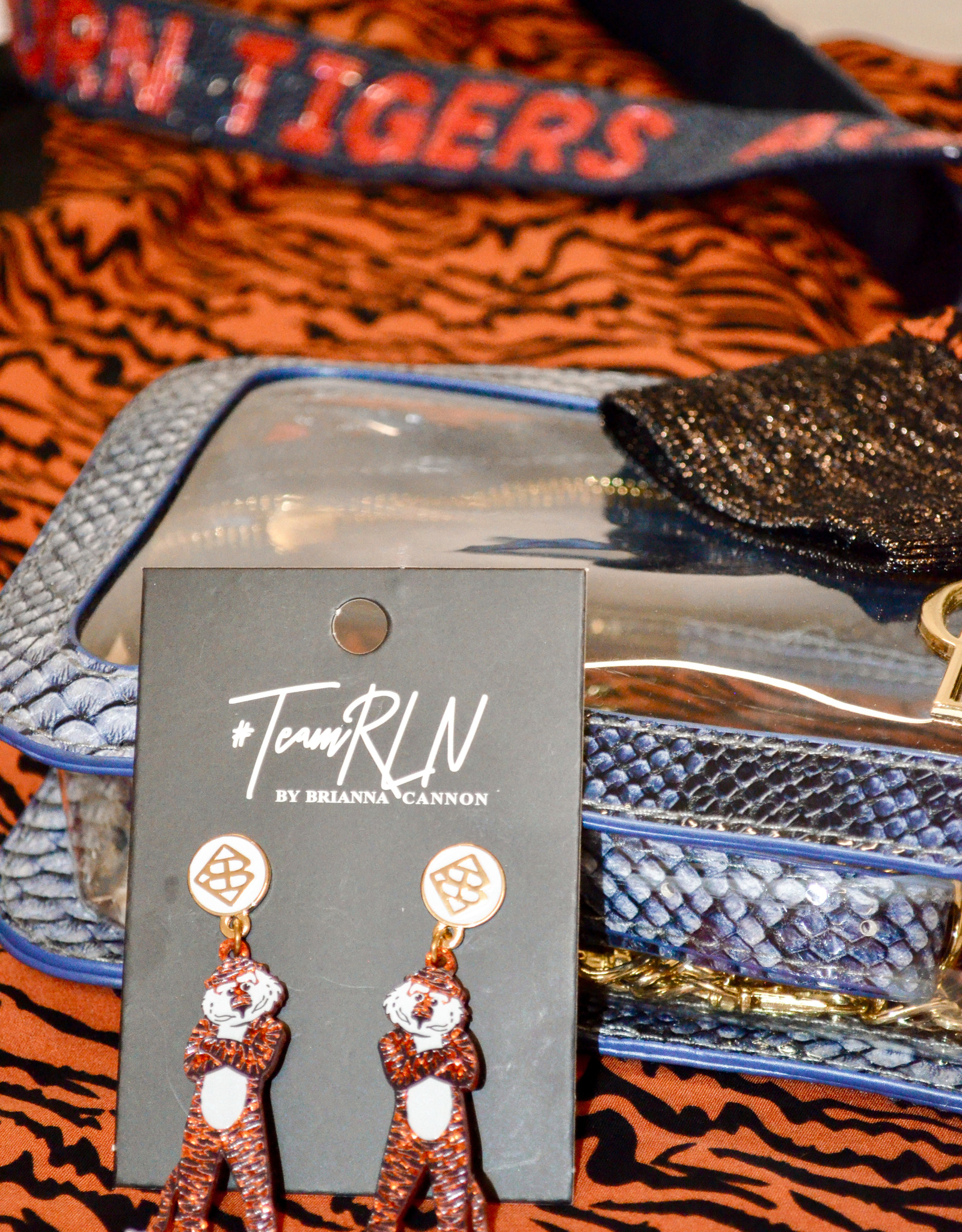 Team #RLN Aubie Earrings