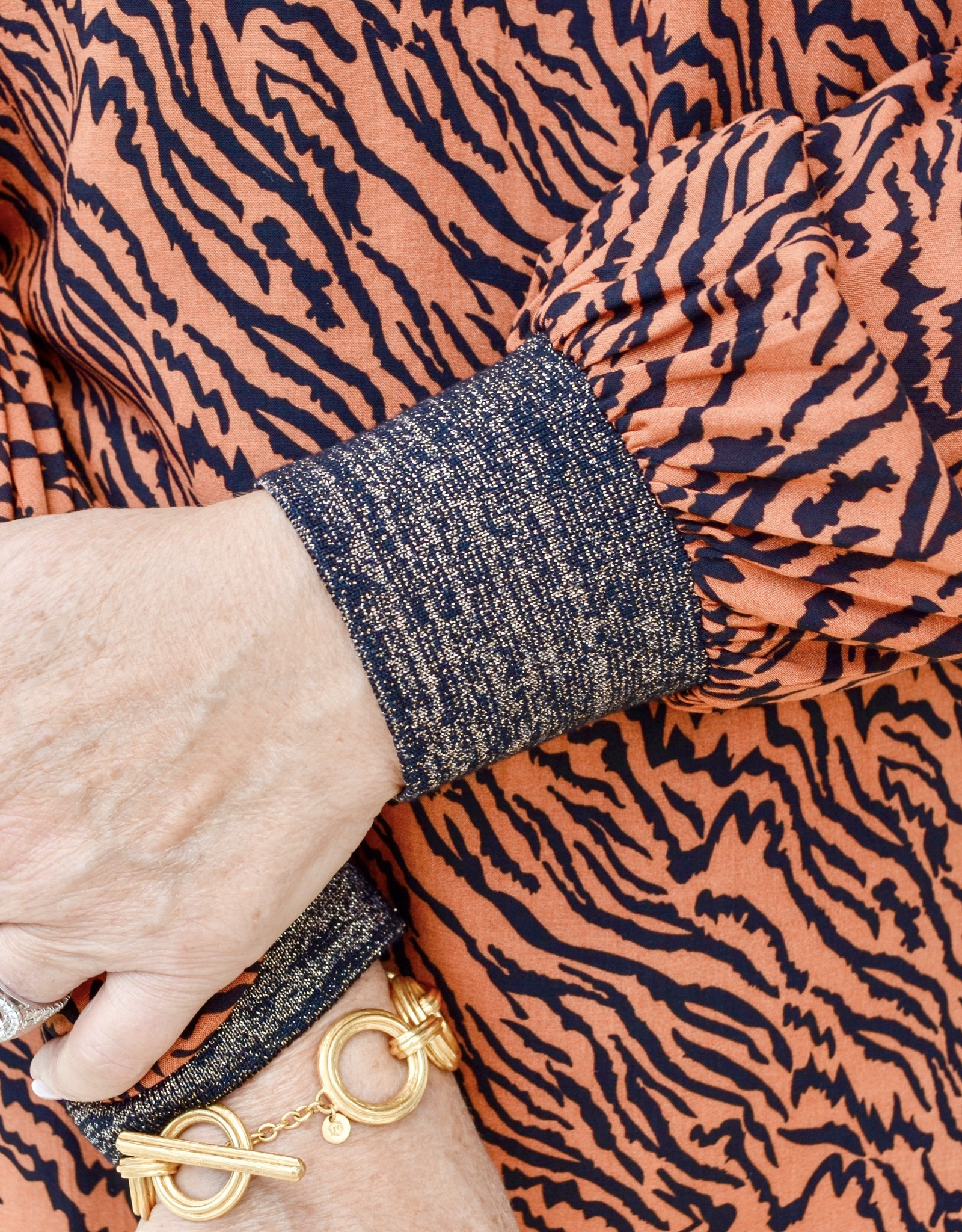 Anna Cate Kelly Tiger Blouse