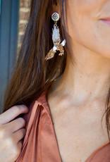 Team #RLN Eagle Earrings