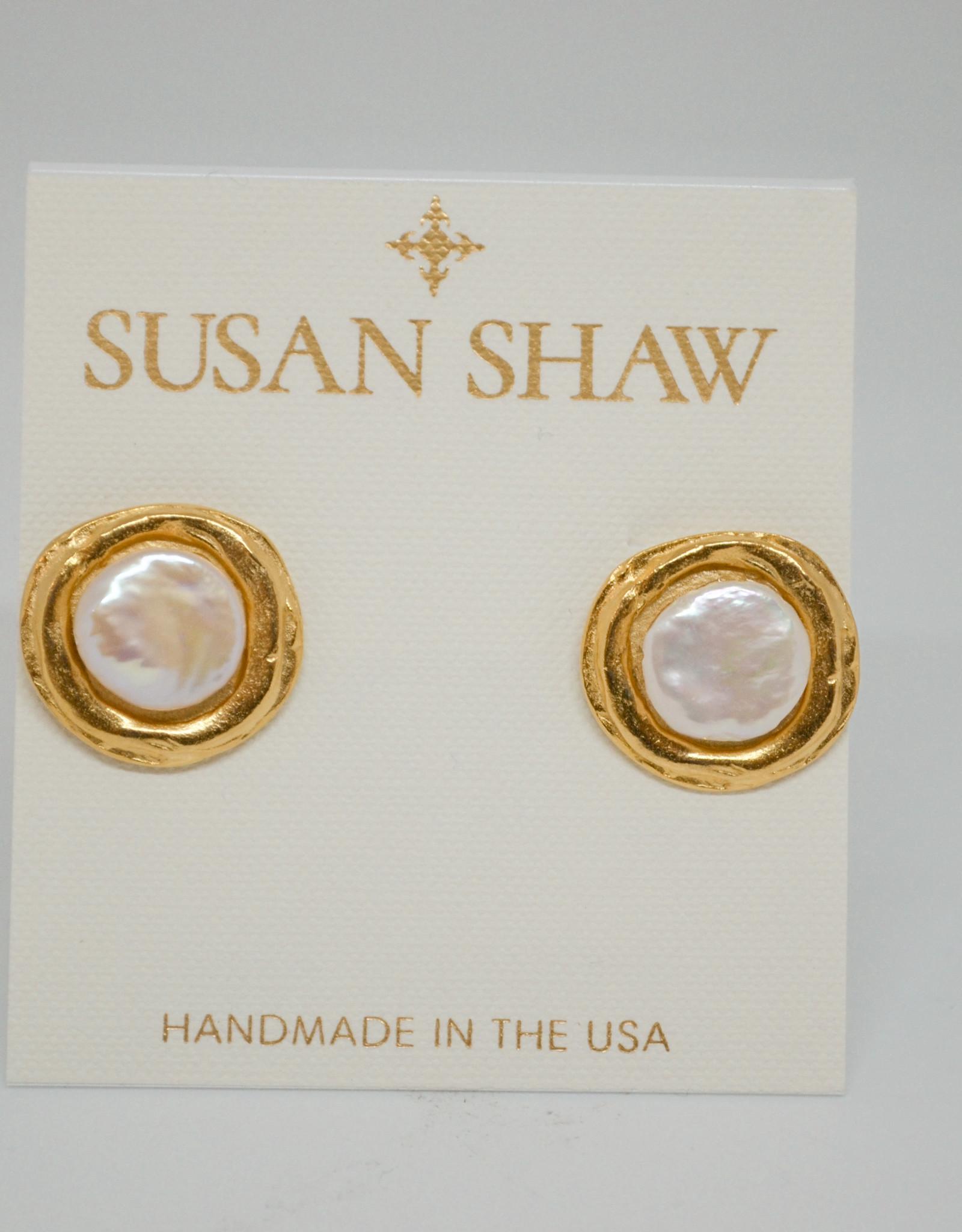 Susan Shaw Pearl Earring