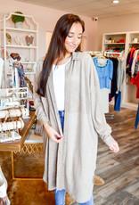 Summum Woman Dark Taupe Suede Dress