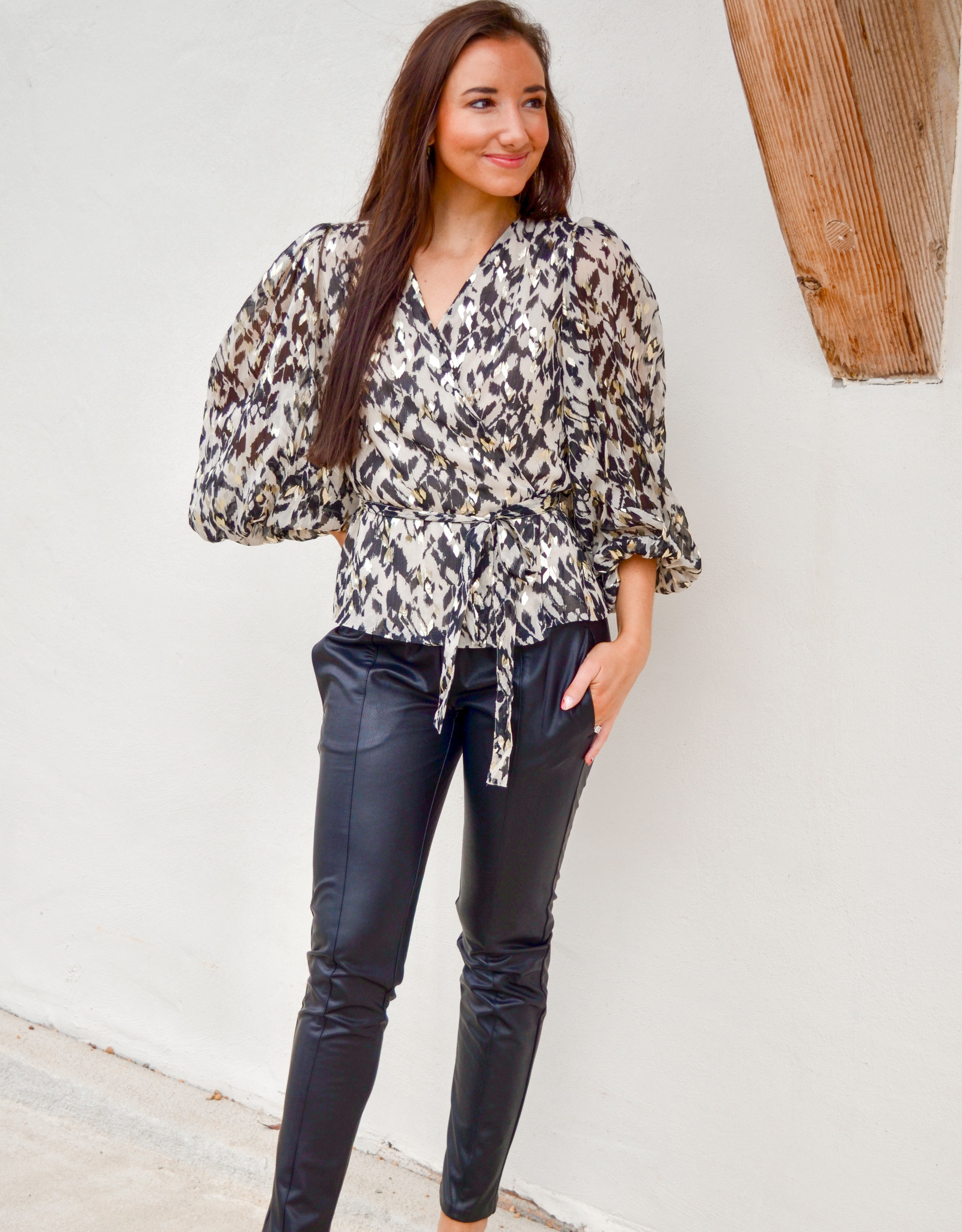 Part Two Fauna Blouse
