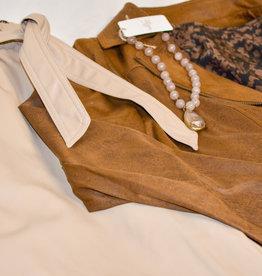Summum Woman Faux Leather Trouser