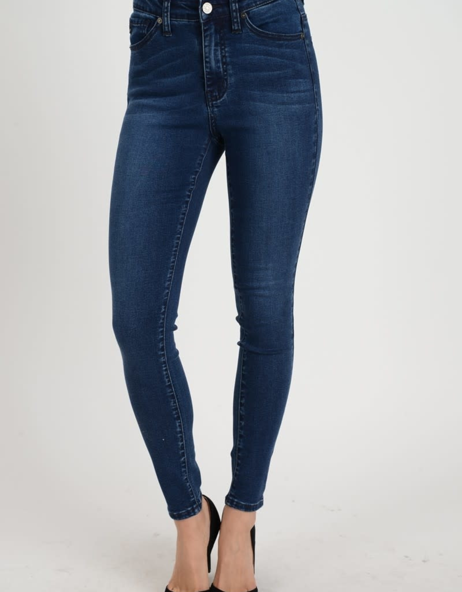 KanCan High Rise Tencel Jean- Denim