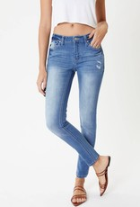 KanCan Mid Rise Light Wash Skinny Jean