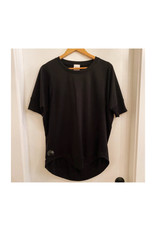 Freeloader French Terry SS Top- Black