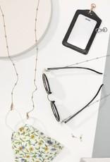 Miss Bliss Mask & Glasses Chain-