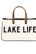 Miss Bliss Lake Life Canvas Tote