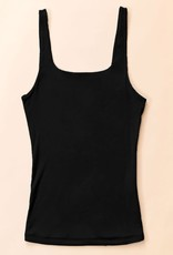 Miss Bliss Modal Scoop Back Tank Top-