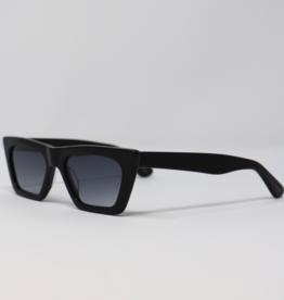 Priv Priv Kaya Black Sunglasses
