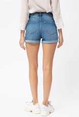 Miss Bliss High Rise Denim Shorts-
