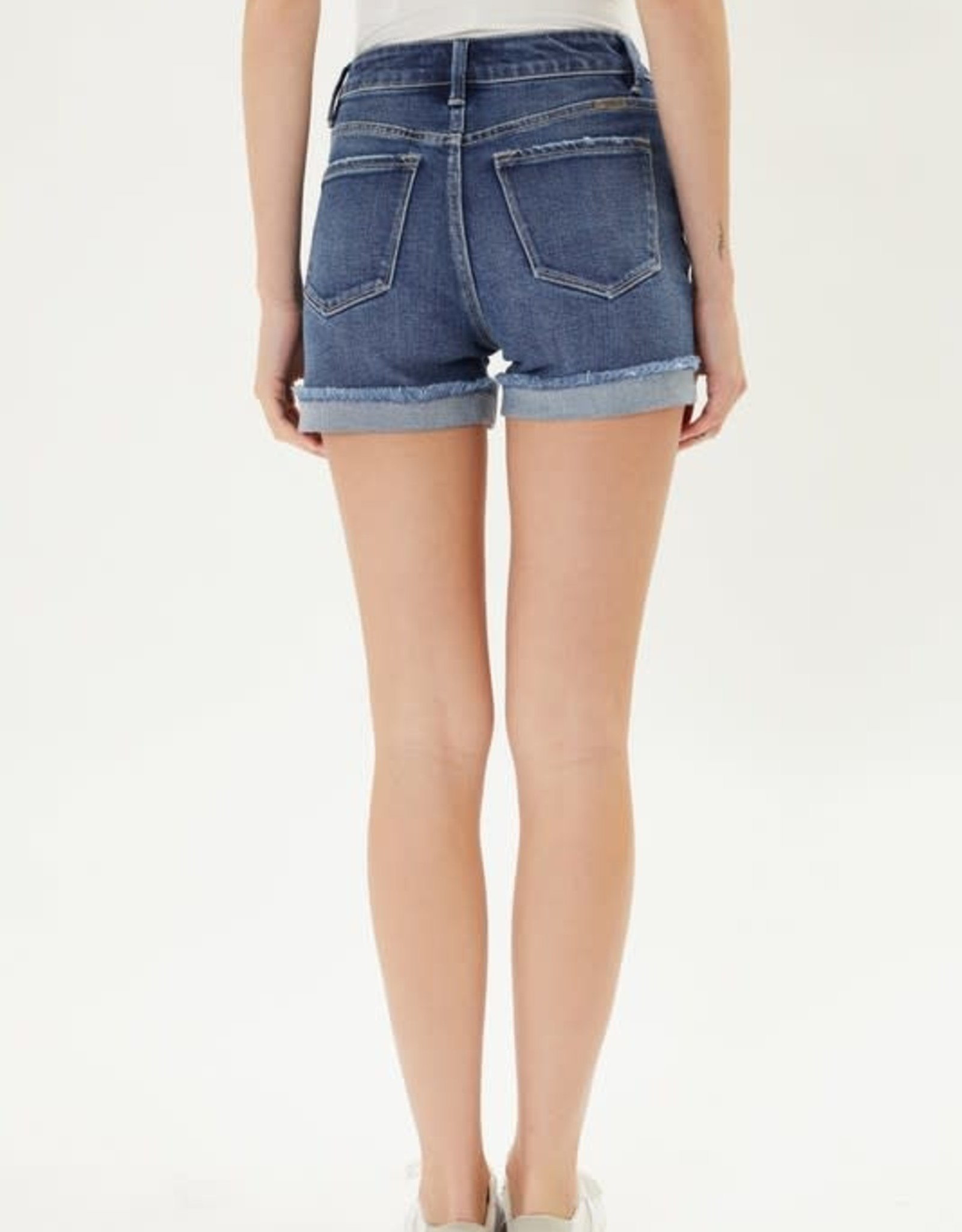 Miss Bliss High Rise Folded Shorts-