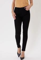 Miss Bliss High Rise Black Basic Skinny Jean-
