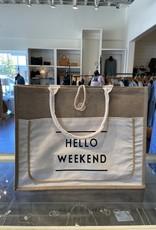 Fame Accesorries Hello Weekend Bag