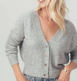 Miss Bliss Button Down Cropped Cardigan-