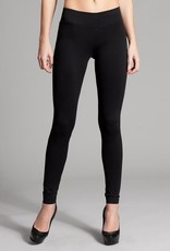 Miss Bliss Basic Seamless Leggings- Black